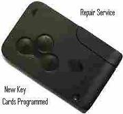 Renault Key Card Repair