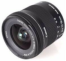 10-20mm lens for canon mount