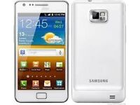 Samsung galaxy s2 unlocked in white boxed