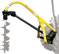 Post Auger for 3 Point Hitch