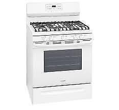 Frigidaire Gallery White 30'' Gas Range FGGF3036TW for Kitchen (BD-2281)