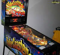 Roller Coaster Tycoon, Rocky And Bullwinkle, T2 Pinball Machines