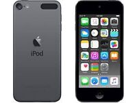 Ipod touch 16gb 6th generation - space grey - including protective case and charger