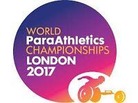World Paraathletics Championships Session 14 Tickets