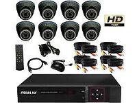 cctv kit dvr 5 in 1 system camera