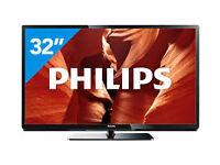 philips 32'' led smart tv. led screen. full hd 1080p