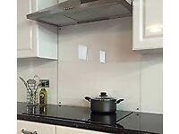 WREN Kitchen Clear Glass Splash back - SPLASHBACK
