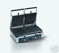 Sandwich Press Panini Grill Coated Double