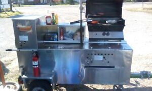 Hot dog cart for sale $1500.00