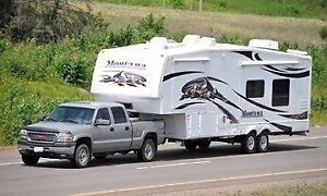 Travel trailer and fifth wheel towing!