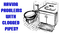 PLUMBER...... UNCLOG CLOGGED DRAINS........ PLUMBER