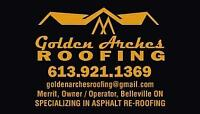 Residential re-roof & repair specialists