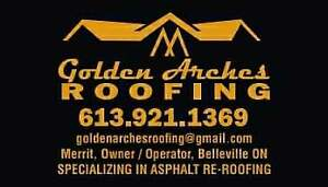 Golden arches roofing(licenced and insured)