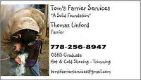 Thomas Linford Farrier Services