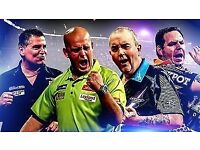 Grand Prix of darts City West Hotel Dublin weds 4th october great seats