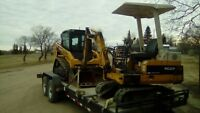 Bobcat and Mini Excavator with operator for hire $100/hour