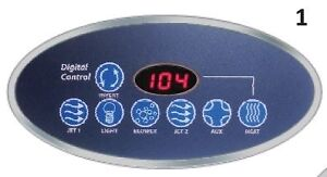 Spa Digital Controller