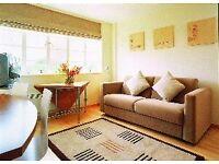 SOUTH KENSINGTON. STUNNING ONE DOUBLE BEDROOM FLAT WITH GYM, SAUNA, INTERNET. AVAILABLE NOW