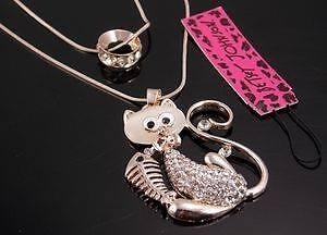Listing #2- Betsey Johnson Collection Pendant Necklaces