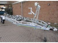 Top of the range Rapide boat trailer (used) for 2 ton with highest spec available in the UK