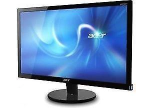 Acer P206HV 20'' LCD Monitor - READ