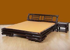 bambusbett g nstig online kaufen bei ebay. Black Bedroom Furniture Sets. Home Design Ideas