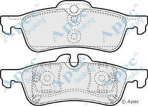 Apec Braking OE Quality Replacement Brake Pad Set - PAD1328