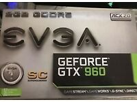 EVGA GeForce GTX 960 SC 2GB