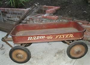 Looking to buy vintage red wagon