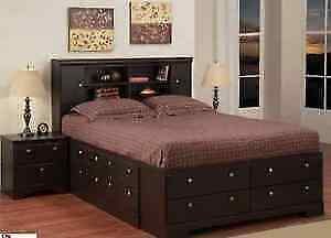 12- DRAWER STORAGE BED WITH FREE DELIVERY