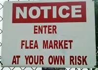 YES MULVEY FLEA MARKET WILL OPEN LABOR DAY MON SEPT 7