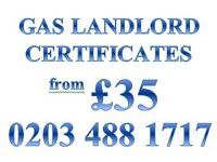 Professional Gas Landlord Certificates from £35