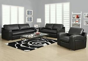 set de salon, sofa causeuse fauteuil, inclinable
