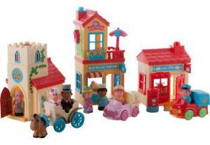 Happyland Village Set Early Learning Centre Elc Ebay