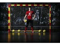 Goalkeeper wanted for futsal (indoor football) 5a side