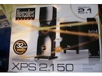 speakers for PC, MP3, CD, TV or DVD player Hercules XPS 2.150