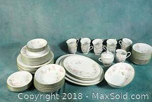 Large Vintage Noritake First Blush Dinner set with serving pieces 60+ pieces