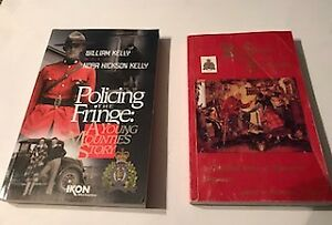 Two Canadian Mounties Books - RCMP