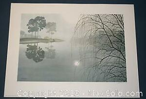 """Oswald Schenk """"Prelude"""" limited edition print, Artist Proof, s/n"""