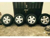 FORD TRANSIT ALLOY WHEELS
