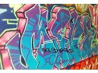 Street Art Graffiti Wall Art Murals Canvas Painting Hand Painted By London Artist Artwork