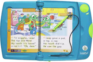 Green Classic Leap Pad Frog Learning System
