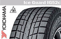 "18"" YOKOHAMA ICE GUARD IG52C---WINTER SNOW TIRE SALE--$70 REBATE"
