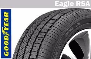 205/55R16 Goodyear eagle RSA High performance all season tire promotion event
