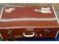 Vintage suitcase 1950's