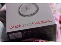 Brand New Unopened Beats Solo2 Wireless in White