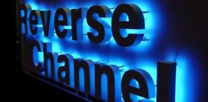 LED CHANNEL LETTERS - SIGNS - BANNERS