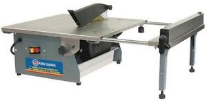 7 INCH SLIDING WET TILE SAW WITH LASER GUIDE