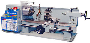 7 IN. X 12 IN. VARIABLE SPEED METAL LATHE