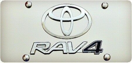 TOYOTA RAV 4 3D Novelty Plate - Stainless Steel